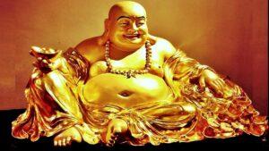 Laughing Buddha की मूर्ति